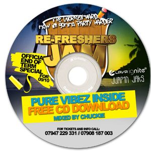 The OFFICIAL RE-FRESHERS JAM MIX CD'PURE VIBEZ INSIDE' 3 MIXED BY DJ CHUCKIE