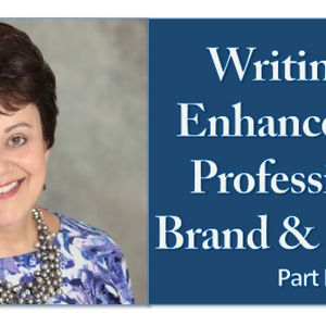 Writing to Enhance your Professional Brand & Career, Part 1 - Pharmacy Podcast Episode 282