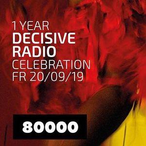 1 Year Decisive Radio