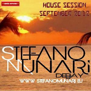HOUSE SET - SEPTEMBER 2012 - DJ STEFANO MUNARI