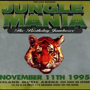 Jumping Jack Frost w/ MC Flux & MC MC - Jungle Mania 'Birthday Jamboree - 11.11.95