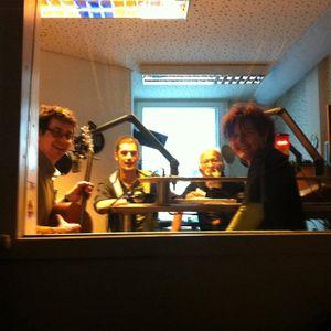 Radiosendung mit John Banse; den Steinlandpiraten und Bernd Beistecker bei Radio Corax