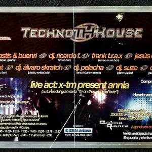 Alvaro Scratch @ Techno House Festival, 2º Aniversario, La Cubierta, Leganes, Madrid (2001)