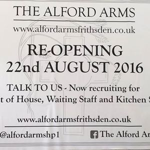 Sarah stutters, the Alford Arms announces, Pete Guy's Ship sinks and the glorious 80's simmer 17/7