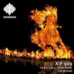 DJ X-P 909 - T.E.B.G. Vol. 4 - Horse Power (28.06.14)