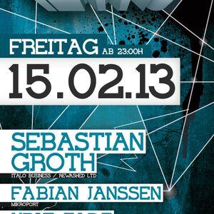 Sebastian Groth @ Freaky Tekkno  15-02-2013