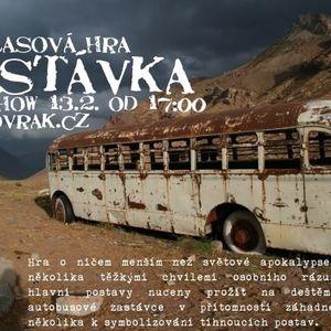 Vrak Show Radio Rastafari 50. Experiment . Rozhlasová hra Zastávka ... Josef Fišer.
