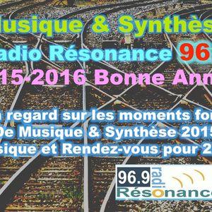 Musique & Synthèse de 2015 à 2016