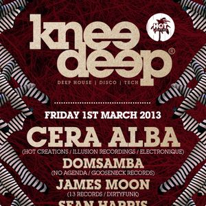:: The Knee Deep Podcast | Episode 002 | Mixed by DomSamba, James Moon & Sean Harris ::