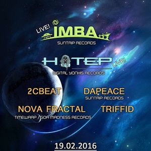 Triffid - Back To Space Live @ Valinor 19-02-2016