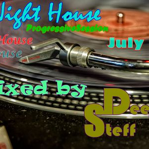 Night House ProgressiveSession July vol. 26 (House, TechHouse) Mixed by DeejaY Steff 23.07.2014