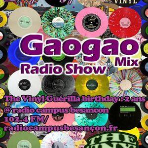 The Vinyl Guérilla 2ans radio campus besançon mix By DJ Gaogao only Vinyl