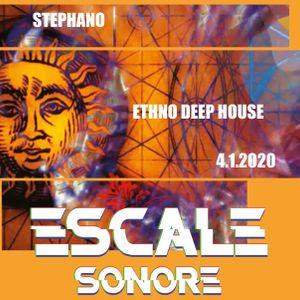 Stephano - Ethno Deep House @ Escale Sonore 4.1.2020