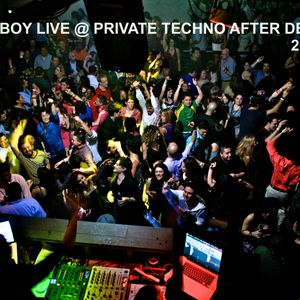 Demmyboy live @ Private Techno After Debrecen (2019.05.05.)