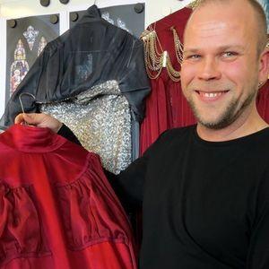 Pukusuunnittelija Tuomas Lampinen