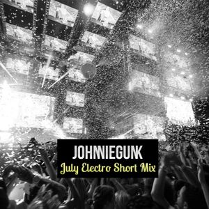 JohnnieGunk - July Electro House Short Mix 2012
