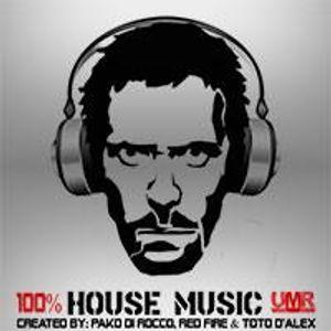 100% House Music on UMR Radio  ||  Pako Di Rocco & Red Fire  ||  17_04_15