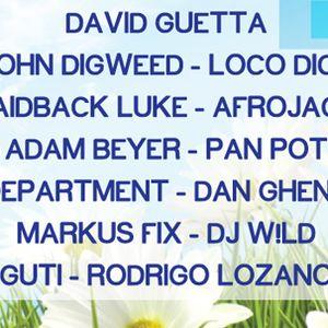Pan-Pot Live @ Creamfields Peru 2011