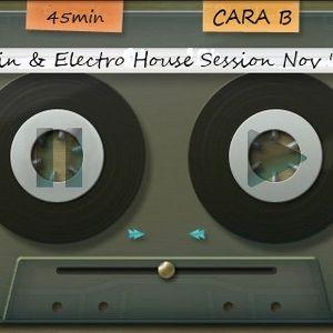 LATIN & ELECTRO House Session Nov '10 - CARA B