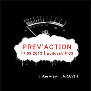 17/09/2013 - Prev'Action (ARAVIH)