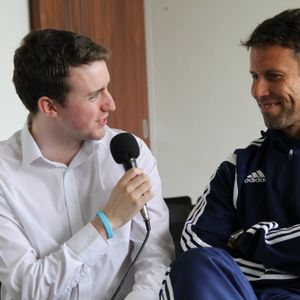 Talking football with Ronny Johnsen