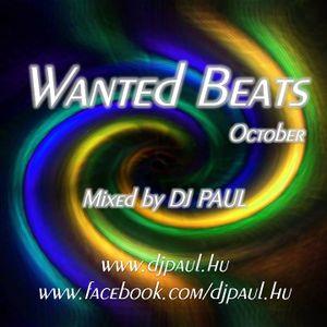 Wanted Beats October Mixed By Dj Paul