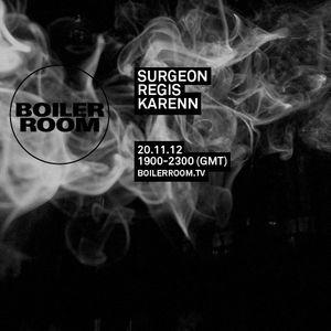 Surgeon - Live At Boiler Room (London) 20-11-2012