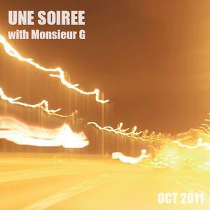 Une Soirée with Monsieur G #October 2011#
