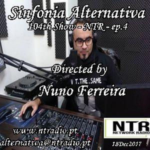 SINFONIA ALTERNATIVA 104th Show - 18Dec2017 - NTR Network Radio - Ep.4