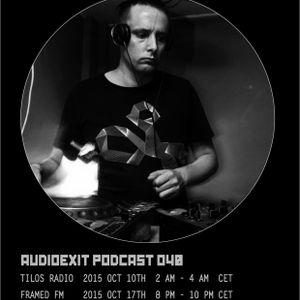 Audioexit Podcast 040 Pt.1 - Kev Willis
