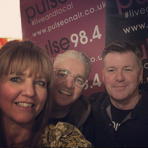 Caezar in conversation and session with Diana Schad/Night Nurse on Pulse 98.4fm 9th January 2019