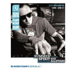 Norris Terrify LIVE! Stereo City Festival - ALWO Altenburg DE 2012-SEP-01