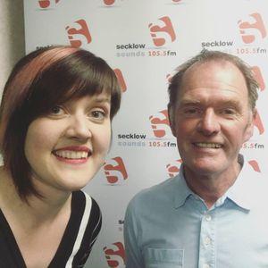 Daria Kulesh live on Jim Cleland's Drive Time, Secklow Sounds 105.5FM