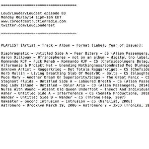 Loud Louder Loudest episode 83 061614