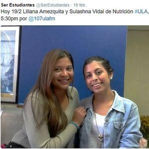 Ser Estudiantes / 19-02-2016 / Invitadas Liliana Amezquita y Sulashna Vidal (Medicina ULA)
