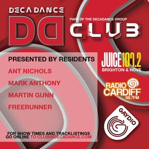 DECADANCE RADIO - SAT 11 JANUARY 2014