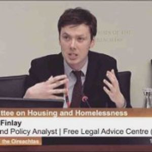 Ciaran Finlay of the Free legal Advice Centre
