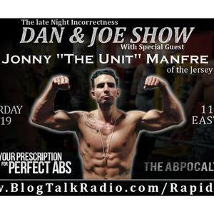The Dan&Joe Show with guest Jonny Manfre of the Jersey Shore