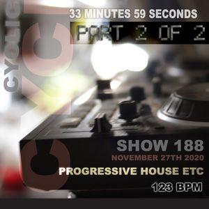 DJ Cyclic Show 188 part 2 of 2