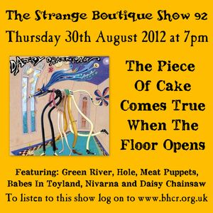 The Strange Boutique Show 92