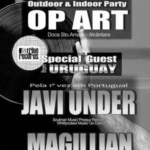 MAGILLIAN live at OP ART Lisbon 27.07.2012