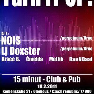 Live @ Turn it up (15 minut   Olomouc   19.02.2011)