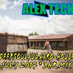 DJ Alex Tech_ Deep, Soulful, Afro-HOUSE_ June 2017