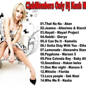Club Members Only Dj Kush Mix Tape 86