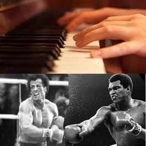 242 COMPOSERS at PIANO and BOXERS