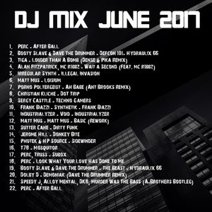 Dave The Drummer June DJ Mix 2017