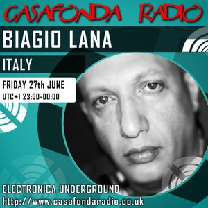 BIAGIO LANA // ITALY // CHANNEL RECORDINGS & IELEKTRONIX SHOWCASE 27/06/2014 23:00