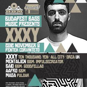 Mentalien - Live at Budapest Bass Music - Corvinteto 09-11-2012