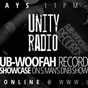 S Man's D&B Show Unity Radio 92.8FM 21/10/15 Part 1