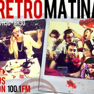 La RétroMatinale - Radio Campus Avignon - 28/11/12
